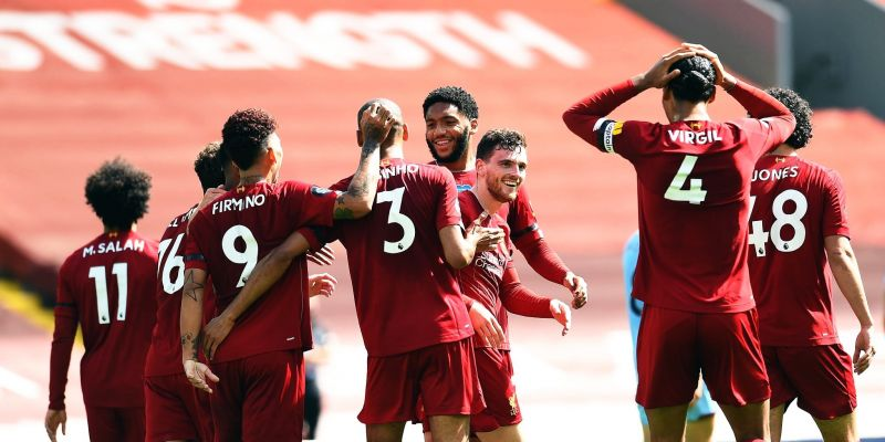 (Photos) van Dijk's brilliant reaction to Robbo's goal will make Liverpool fans laugh