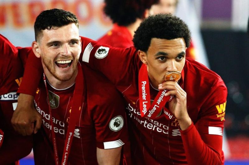 (Image) Trent goes full Xabi with his own 'my hero, my mate' tweet