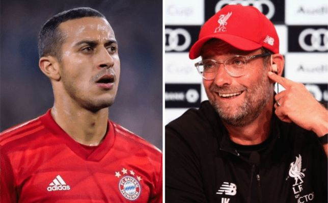 Source tells James Pearce of Thiago likelihood: 'Klopp rates him highly, he's available & keen on moving to PL'