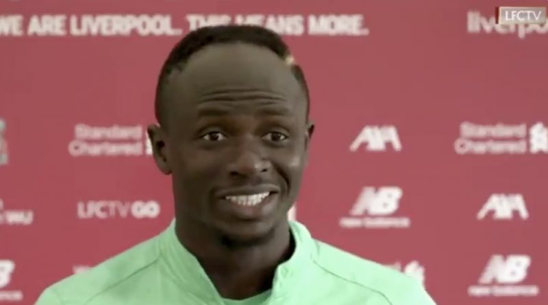 'Hello I've been tested positive…' Sadio Mane posts message to fans after COVID-19 news