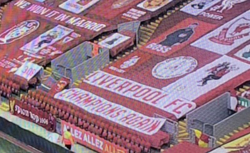 (Images) There will be a giant new banner at Anfield for Liverpool's next home game…