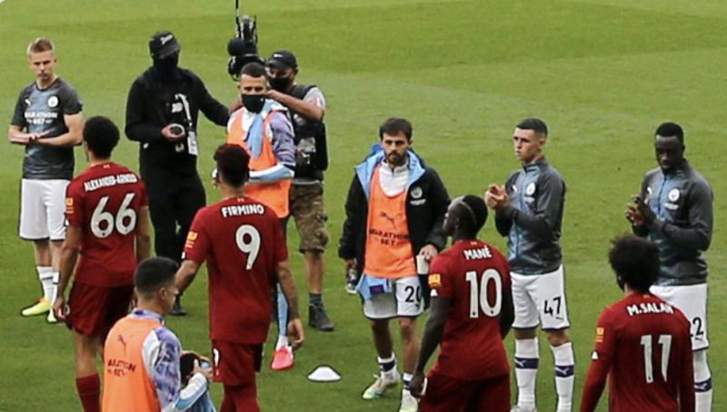 (Video) Bernardo Silva refused to clap during Guard of Honour in weirdly childish snub