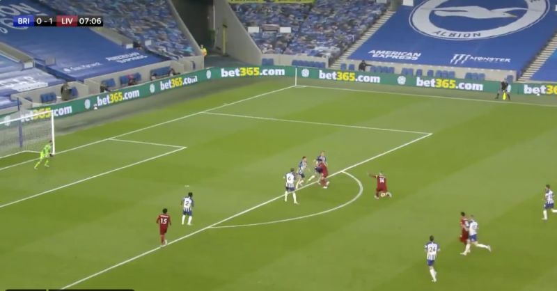 (Video) Henderson curls in beauty from range, but Keita's contribution inside eight minutes is insane