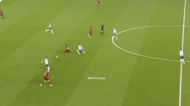 (Video) Naby Keita's spin and drag-back that bamboozled Brighton and summed up wonderful performance