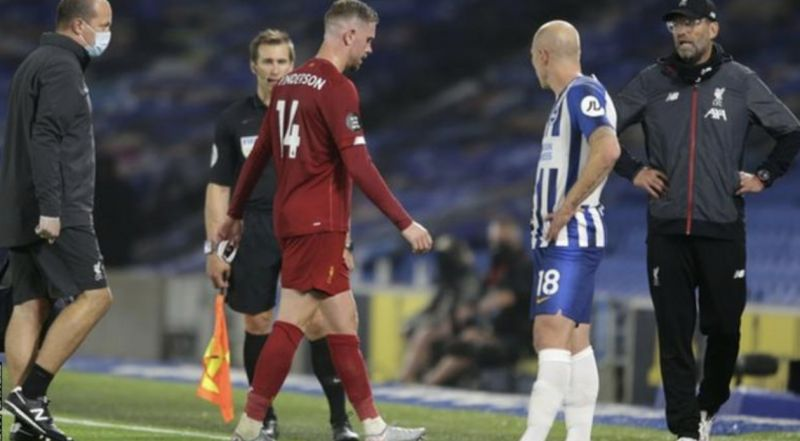 Jordan Henderson may have to do a John Terry in two weeks' time – ironically, v Chelsea – when Liverpool lift Premier League
