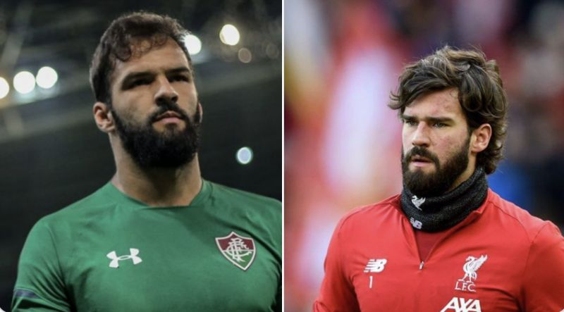 Alisson's goalkeeping brother Muriel did something amazing last night