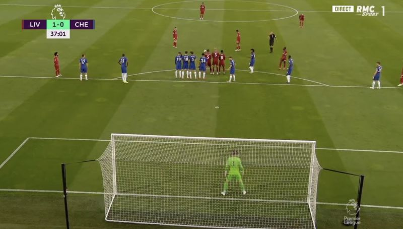 (Video) Amazing angle of Trent's free-kick worldy v Chelsea – absolute carbon-copy of Crystal Palace goal