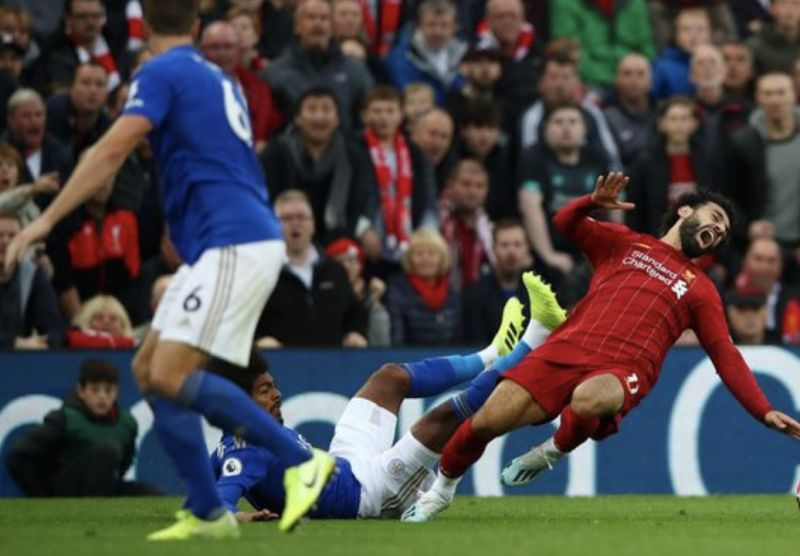 Ridiculous Mo Salah foul stat shows refs have clear bias against Liverpool's Egyptian