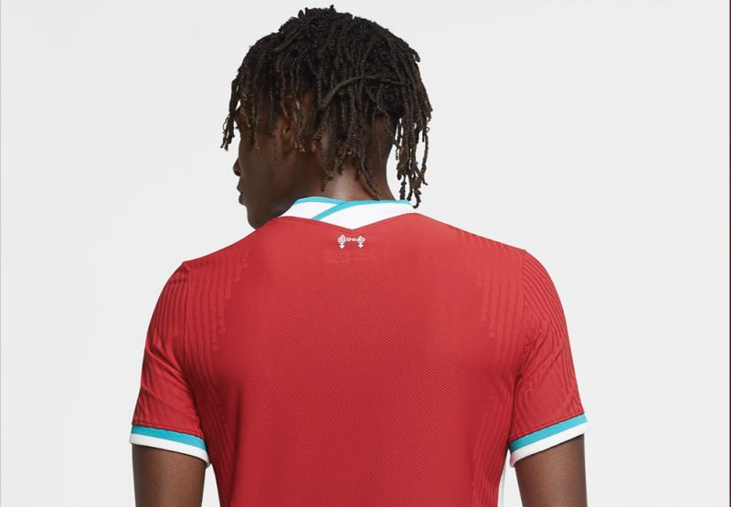 Official images of new Liverpool kit on Nike.com emerge