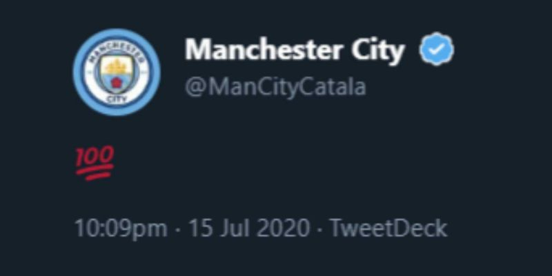 Man City's beggy official account teases Liverpool after Arsenal loss and CAS decision