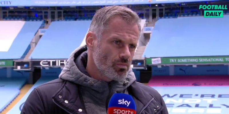 "(Video) ""Suspicion will never go away"": Carra takes swipe at Man City after FFP ruling"