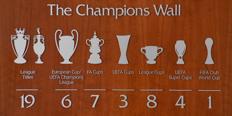 The Champions Wall has been updated – but we think LFC have made one small error