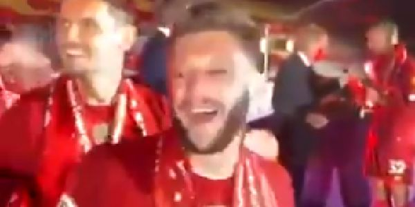 (Video) Milner aims explicit jibe at Man Utd just before lifting PL trophy in funny unseen clip
