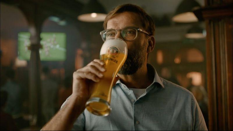 (Video) Go behind the scenes of Klopp's Erdinger ad with brilliant unseen footage