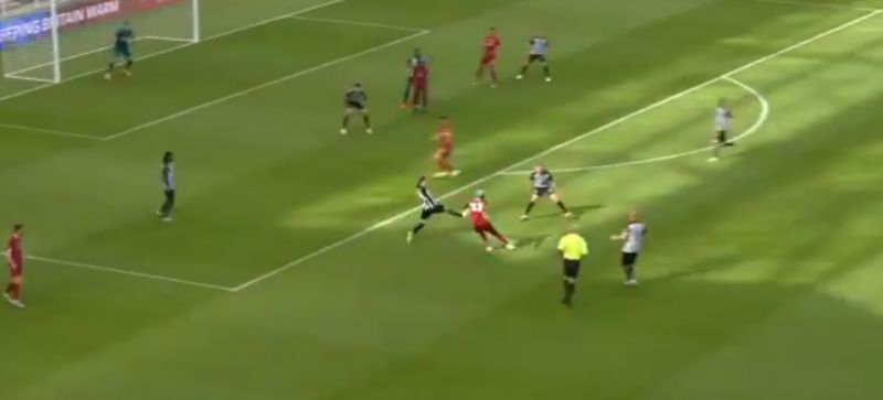 (Video) Origi smashes Liverpool ahead with first goal since December – and it's a belter