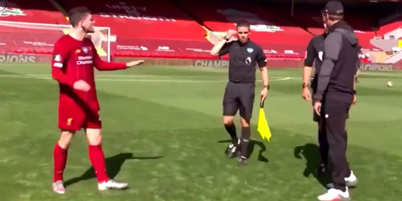 (Video) Robertson kicks off on match officials after final whistle in explicit rant