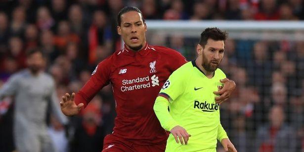 Barcelona legend Xavi names van Dijk the best defender in the world