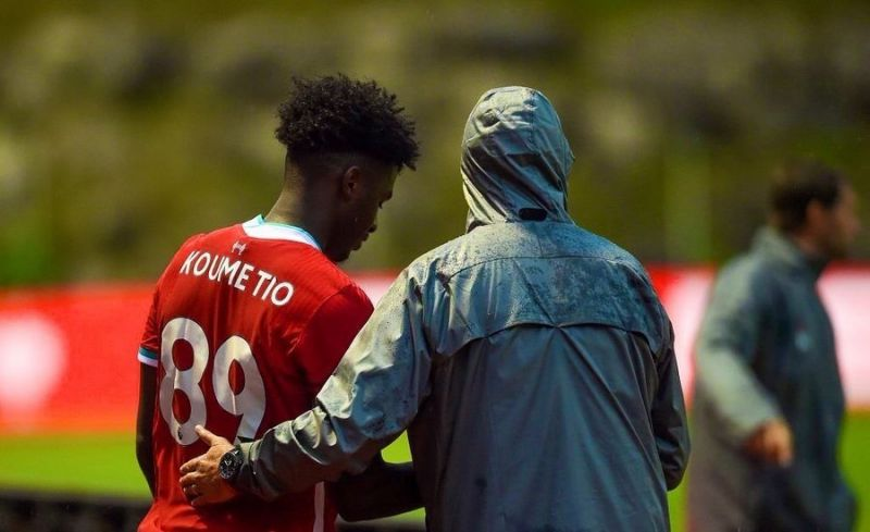 Liverpool fans in awe of 6'4″ 17-year-old Koumetio after brilliant cameo against Stuttgart