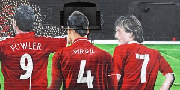 (Photo) Another mural pops up on the streets of Liverpool as Reds continue to paint the city