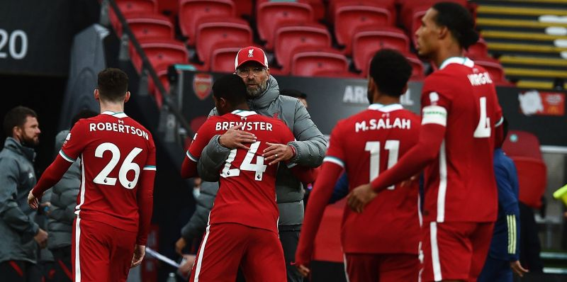 Klopp blames himself for Brewster's penalty miss in Community Shield loss