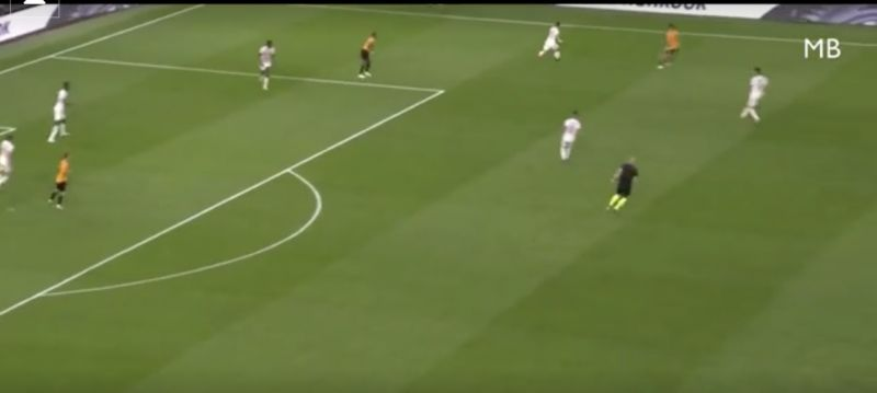 (Video) Tsimikas's double-nutmeg shows Kostas has skill as well as fight