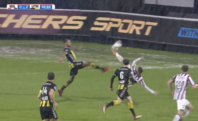 (Video) The best goal Kostas Tsimikas ever scored – bicycle kick lob after skinning defender