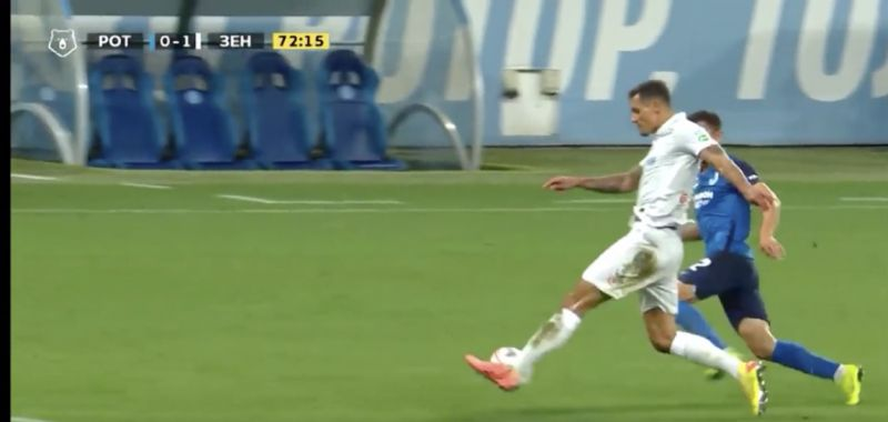 (Video) Dejan Lovren with superb defensive action for Zenit as perfect start in Russia rolls on