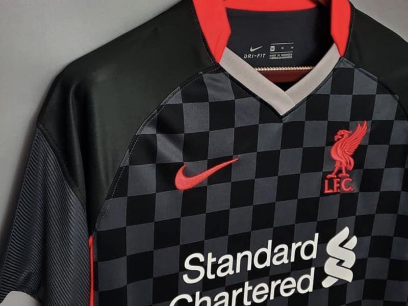 (Images) Liverpool's new third kit has a real Croatia vibe to it