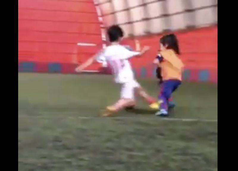 (Video) Liverpool's 6-year-old Iranian Messi has exploded the internet