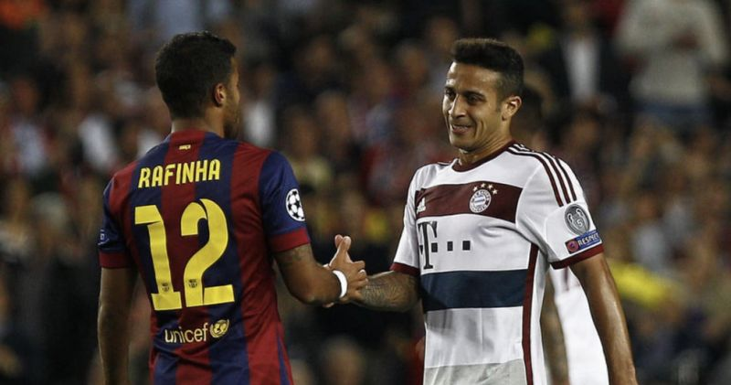 Thiago's dad makes very interesting claim about his Liverpool transfer