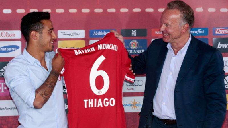 Thiago's Liverpool shirt number – as length of contract also emerges