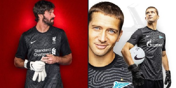 (Photos) Nike have given Liverpool & Zenit the exact same kit