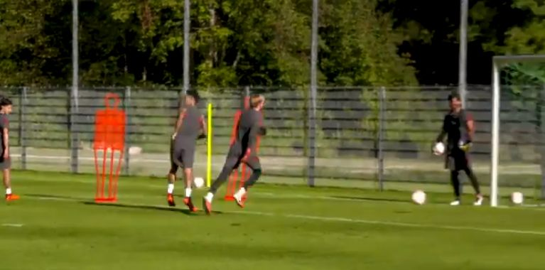 (Video) Firmino drops no-look finish after pacy run; forward looks sharp in pre-season training