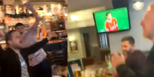 (Video) Liverpool fans debut new Minamino song in pub as Japan star nets first goal