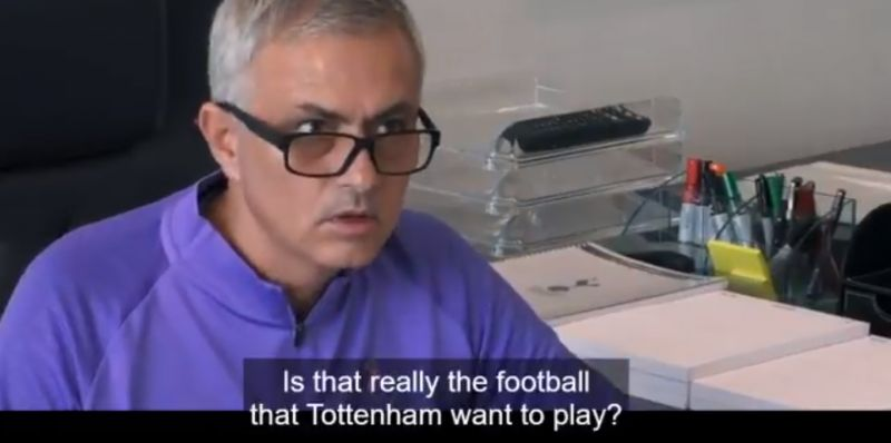(Video) Mourinho swearing at pundits on TV is the funniest thing we've seen all year