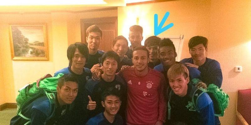 (Photo) LFC fan on Reddit digs up incredible Minamino & Thiago snap from 2016
