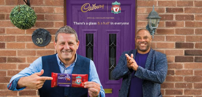 (Photo) Cadbury announce LFC partnership with limited-edition 'Champions' chocolate bar