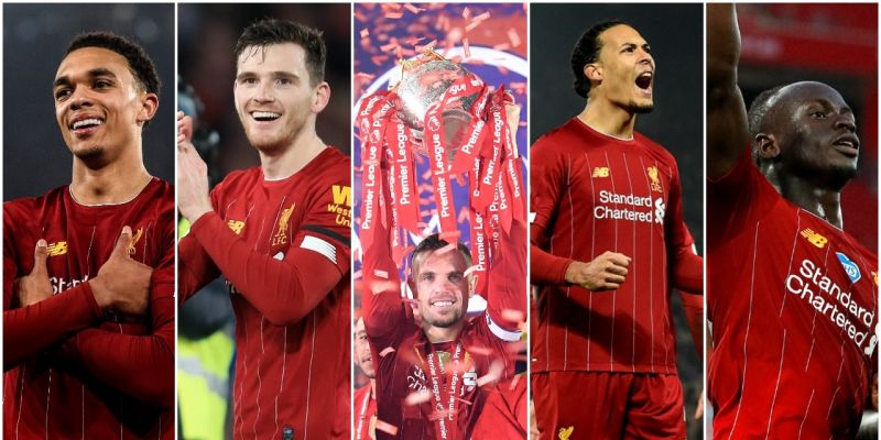Liverpool players dominate the PFA Team of the Year, but one star misses out