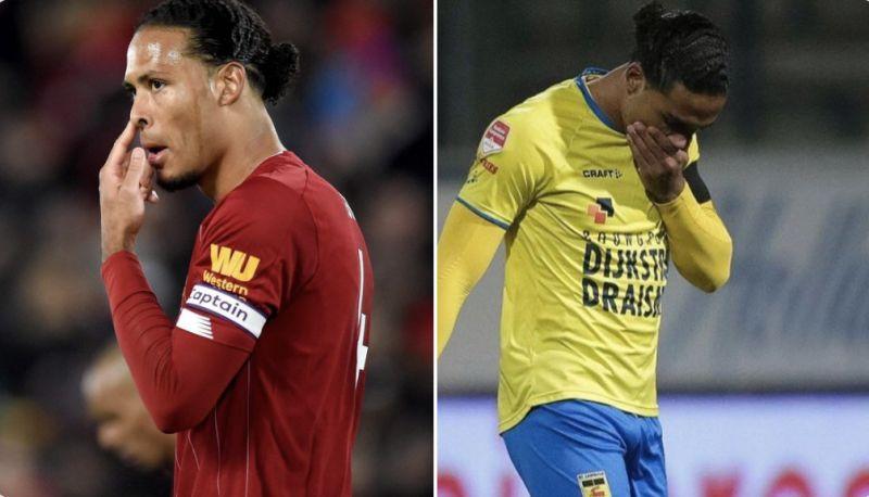 (Images) There's a Dutch centre-back who is Virgil van Dijk's doppelgänger & Reds can't believe it…