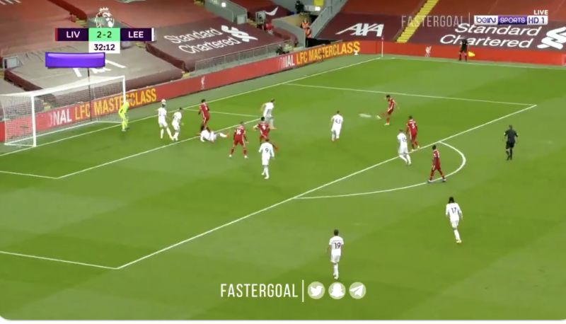 (Video) Mo Salah scores one of his best ever Liverpool goals in mental PL opener