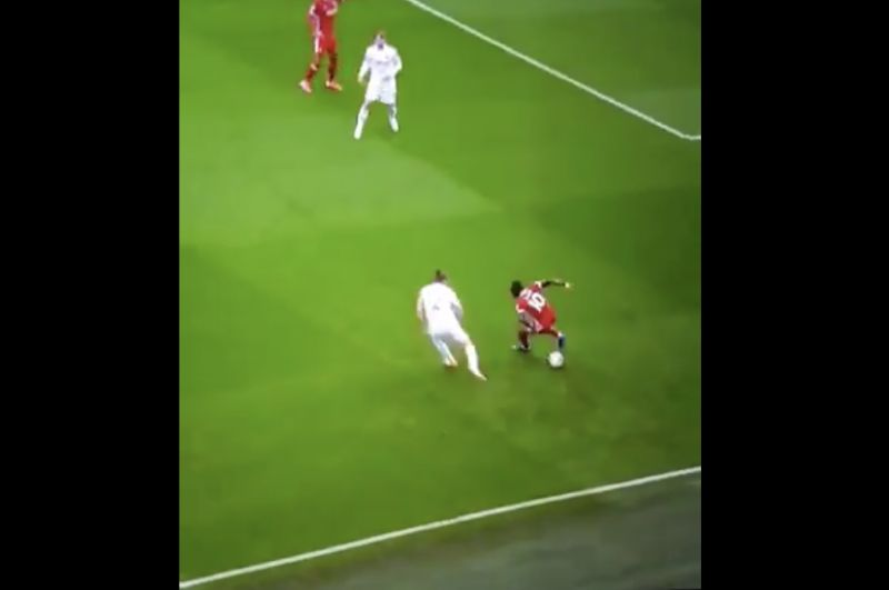 (Video) Sadio Mane welcomed Kalvin Philipps to PL with nasty skill during Liverpool's 4-3 win
