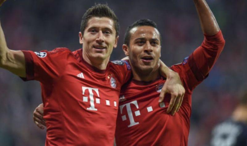 Lewandowski salutes 'magician' Thiago upon Liverpool move… 'Gracias Amigo'