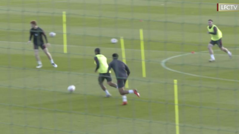 (Video) Thiago bosses small-sided games at Melwood and it's a joy to behold