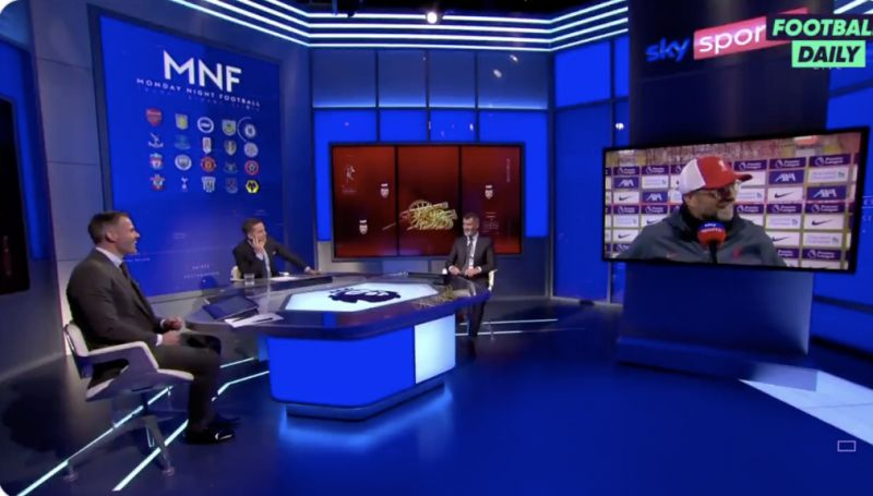 (Video) What Keane actually said to rile Klopp: Roy clearly intimated Liverpool were average