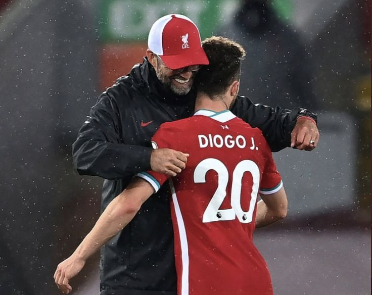 Diogo Jota explains his thoughts on Jurgen Klopp while on international duty with Portugal