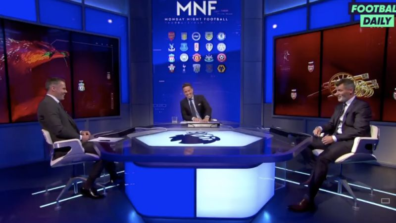 (Video) Liverpool will win the title, says Roy Keane… 'I have to say that now Klopp had a go at me'