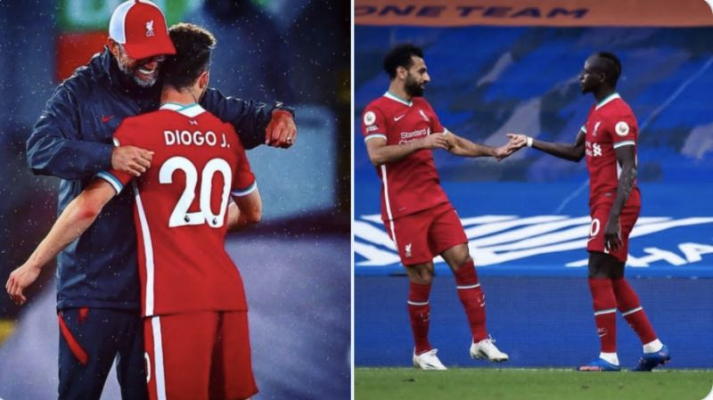 Mo Salah explains why Diogo Jota so beneficial to Liverpool's attack & says there is no rivalry