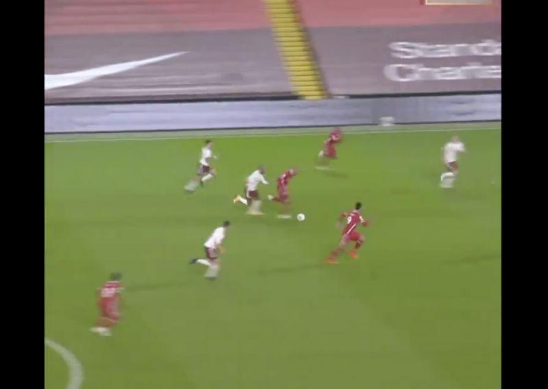 (Video) Unreal Sadio Mane pass that got forgotten about v Arsenal