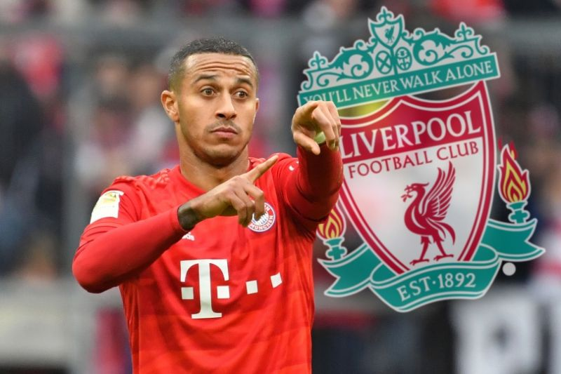 "Bayern CEO confirms Thiago has left German champions for ""great wish"" Liverpool"