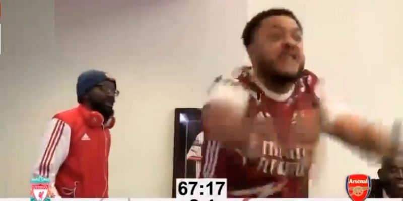 """(Video) """"Daylight robbery!"""" – AFTV's complete meltdown over Anfield loss with angry, shouty rant"""